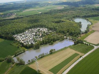 Luftbild-Camping-Hollenbacher-See